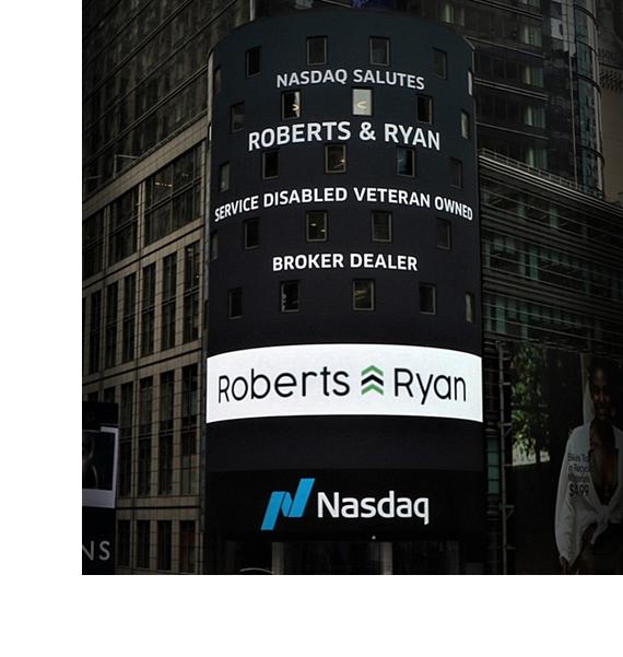 NASDAQ Salutes Roberts and Ryan