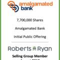 Amalgamated Bank Selling Group Member - August 2018