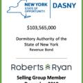 DASNY Revenue Bond December 2018