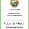 State of California General Obligation Bonds March 2019