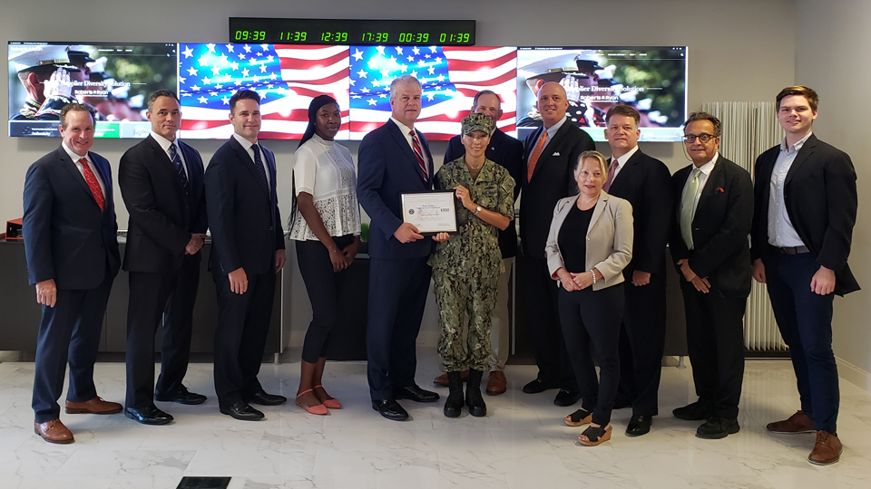 Patriot Award from ESGR