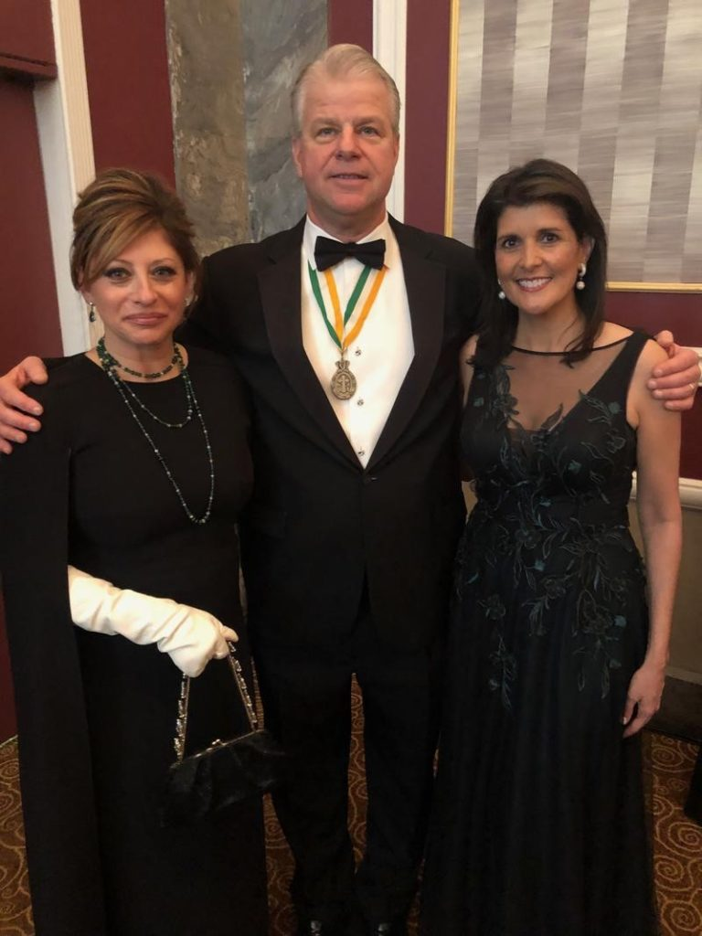 Society of the Friendly Sons of St. Patrick of New York Dinner 2019