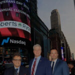 Roberts & Ryan at Annual Closing Bell on Veterans Day - November 11, 2019