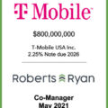T-Mobile USA Note Due 2026 - May 2021