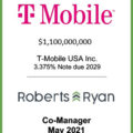 T-Mobile USA Note Due 2029 - May 2021