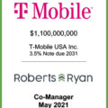 T-Mobile USA Note Due 2031 - May 2021