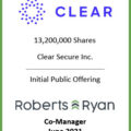 Clear Secure - Co-Manager June 2021