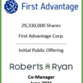 First Advantage - Co-Manager June 2021